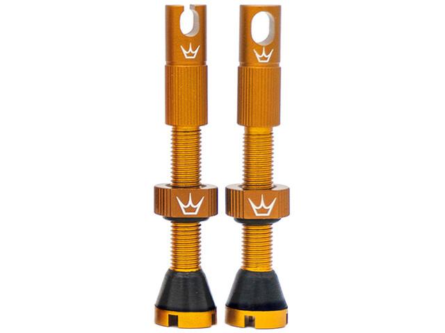 Peaty's X Chris King MK2 Tubeless Valves 60mm, beige